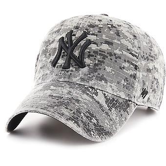 47 fire rips top Cap - PHALANX NY Yankees grey digital camo