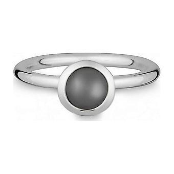 Куинн - Серебряное кольцо с лунным камнем - 021832650