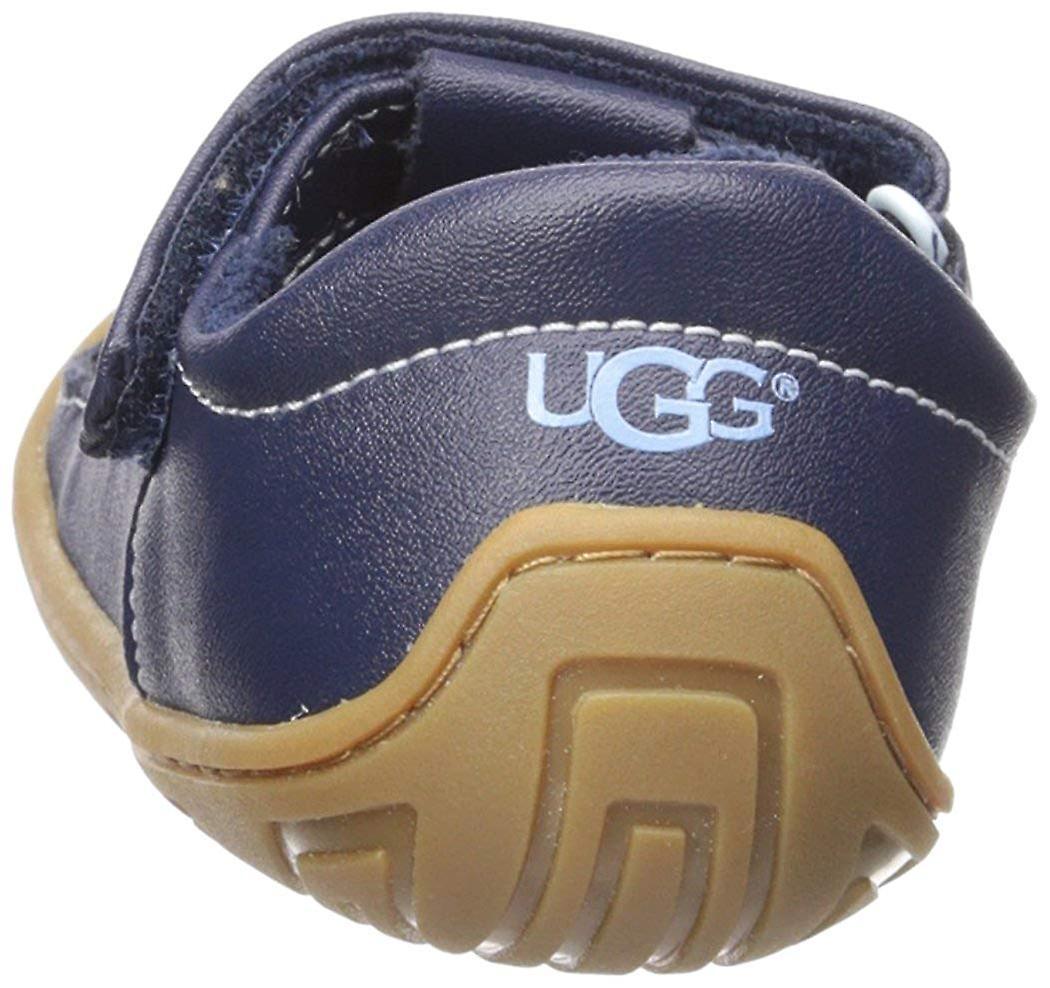 Kids Ugg Australia Girls 1019916t Leather Low Top Walking Shoes