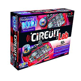 Science Mad Circuit Lab 50+ Experiments STEM Ages 8 Years+
