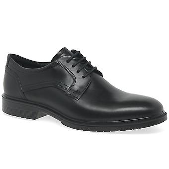 Ecco Lisbon Plain Mens Formal Lace Up Shoes
