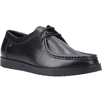 Hush Puppies Mens Will Wallabee Lace Up Leather Shoes