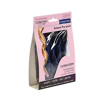 Curlformers Top Up Pack - Deluxe Corkscrew Curls Short