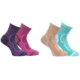 Regatta Great Outdoors Womens/Ladies Active Lifestyle Walking Socks (2 Pack)