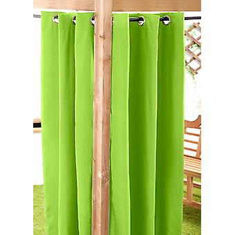 Limette 140 x 300cm Outdoor Vorhang Eyelet Panel Garten Dekor Drape Patio Schatten