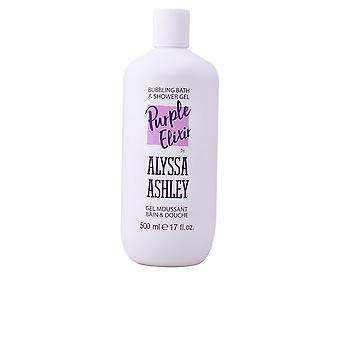 Alyssa Ashley violetti Elixir kuplii Kylpyamme & Suihku geeli 500 Ml naisten