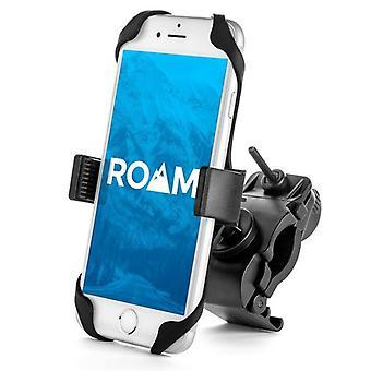 Universal adjustable motorcycle holder bike handlebars bracket phone mount for iphone samsung xiaomi