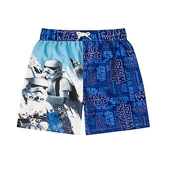 حرب النجوم Stormtroopers هدية رسمية بنين الاطفال السباحة المجلس شورت