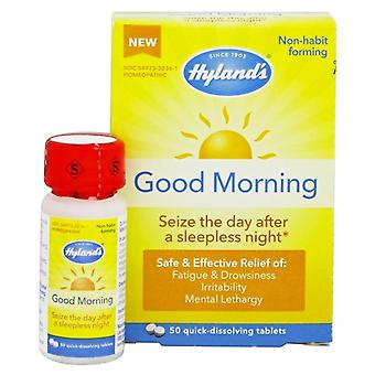 Hyland's good morning, fatigue & drowsiness relief, tablets, 50 ea