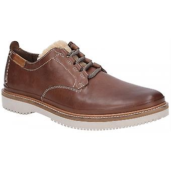 Hush Puppies Bernard Convertible Oxford Mens Suede Shoes Brown