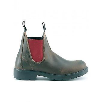 Made in Italia-kengät-nilkkurit-FRANCA_TMORO-ROSSO-naiset-saddlebrown, punainen-36