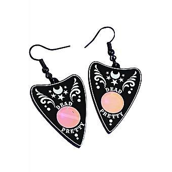 Curiology Dead Pretty Ornate Planchette Earrings
