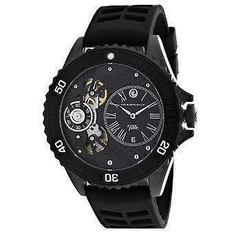 Oceanaut Men-apos;s Tide Black Dial Watch - OC0991