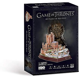 Paul Lamond Game of Thrones Red Keep 314 Piece 3D Jigsaw Puzzle