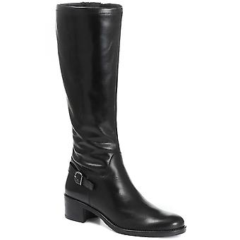 Jones Bootmaker Womens Narrow Fit Leather Knee High Boot