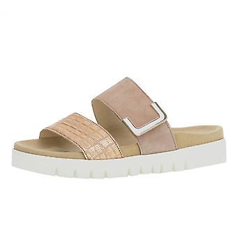 Gabor Euphoria comfortabele metallic mode sandalen in brons
