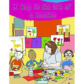 A Day in the Life of Professionals Teacher - Profession Guide for Chil