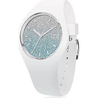 Ice Watch - Armbanduhr - Unisex - ICE lo - White blue - Medium - 3H - 013429