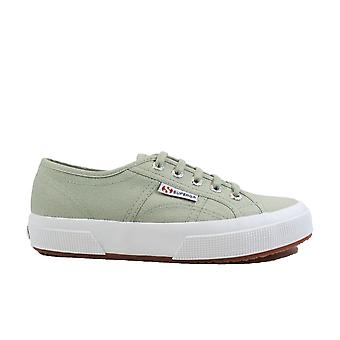 Superga Cotu Classic Sage Green Canvas Womens Lace Up Sneakers