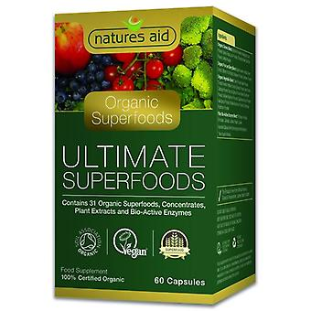 Nature's Aid Organic Ultimate Superfoods Capsules 60 (139220)