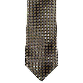 Michelsons Лондоне смелейшее Diamond аккуратные полиэстер галстук тощий - ярко-Браун