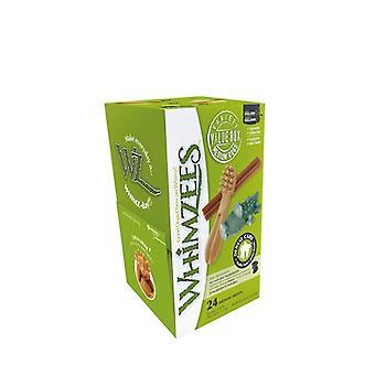Whimzees Natural Dental Dog Chew behandelt Variety Box - Bulk Packs