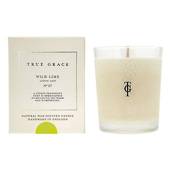 Scented candle classic village wild lime - wild lime 190g