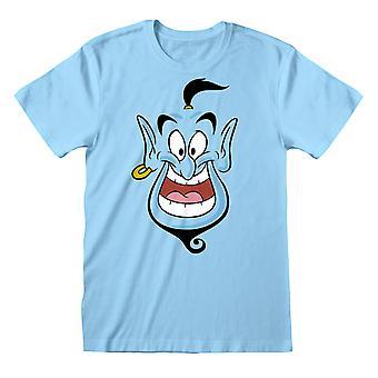 Disney Aladdin Genie Face Men's T-paita | Viralliset tuotteet
