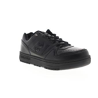British Knights Kings SL Low Mens Black Leather Low Top Lifestyle Sneakers Shoes
