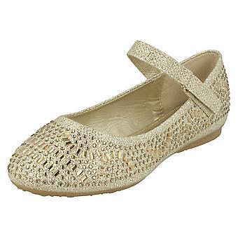 Dziewczyny spot na płaskie buty diamante