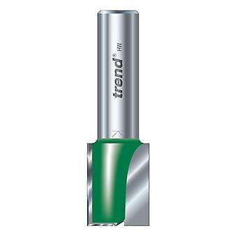 Trend c024ax1/2tc twee fluit 15mm dia x 25 mm gesneden