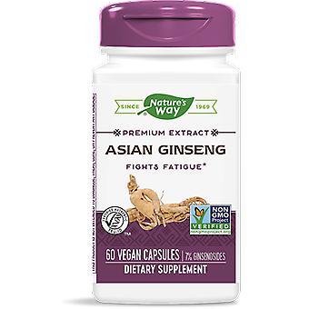 Koreaanse Ginseng gestandaardiseerd (60 capsules vegetarische) - Voie nature-apos;s