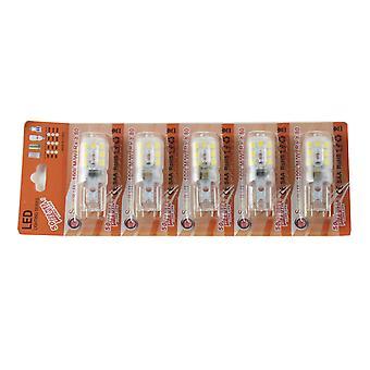 Jandei LED Bulb G9 2.5W Blanc 3000oK Blister chaud 5 pcs