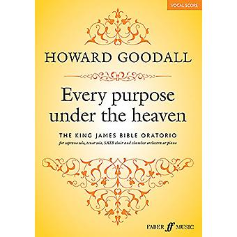 Every Purpose Under the Heaven by Howard Goodall - 9780571537181 Book