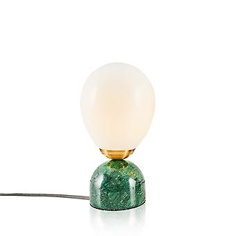 Lampada da Tavolo Repedo Color Verde, Bronzo in Metallo, Acrilico 13x13x26 cm