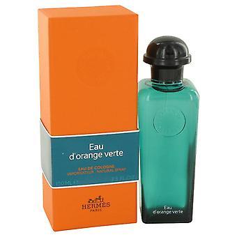 Eau D'orange Verte Eau De Cologne Spray (Unisex) By Hermes 3.4 oz Eau De Cologne Spray