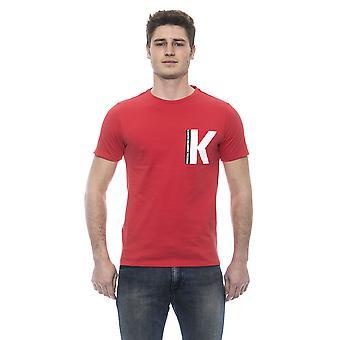 Men's Red Karl Lagerfeld short-sleeved T-shirt