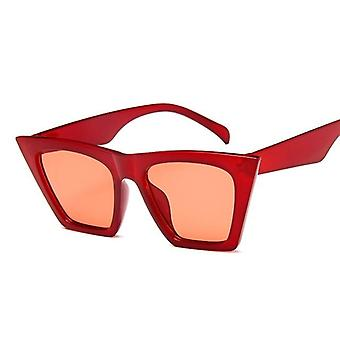 Square Sunglasses Women Designer Luxury Man/women Cat Eye Sun Glasses - Classic Vintage Uv400