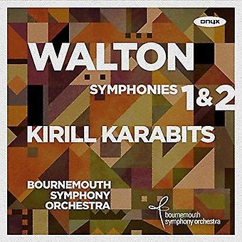 Walton / Karabits*Kirill - Symphonies Nos 1 & 2 [CD] USA import