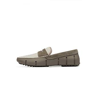 Zwemt Khaki Penny Lux Driver Loafer