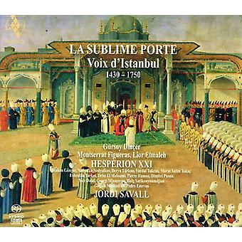 Jordi Savall - La Sublime Porte: Voix D'Istanbul 1400-1800 [SACD] USA import