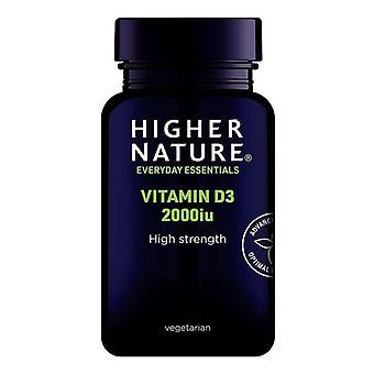 Higher Nature Vitamin D3 2000iu Vegicaps 120 (DV2120)