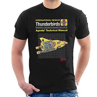 Thunderbirds Agents Manuel technique Thunderbird 4 Men-apos;s T-Shirt