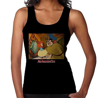 An American Tail Papa Holding Headscarf Women's Vest