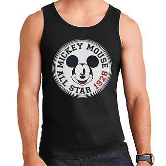 Disney Mickey Mouse All Star Emblem Männer's Weste