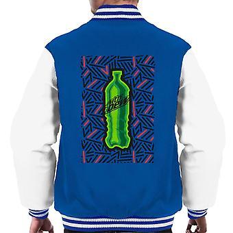 Mountain Dew Bottle mønster menn ' s Varsity Jacket
