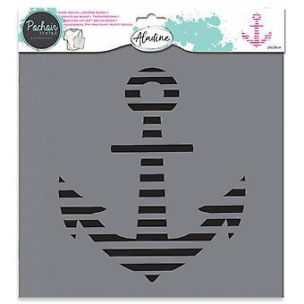 Aladine Textil Stencil Anchor
