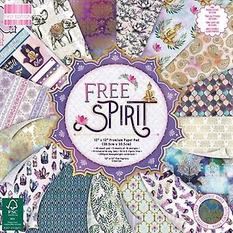 Première édition Free Spirit 12x12 Inch Paper Pad