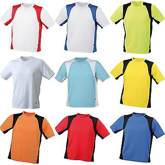James and Nicholson Mens Sublimation Running Top