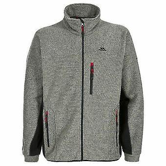 Mens Trespass Jynx Peso Pesado Full Zip Fleece Jacket